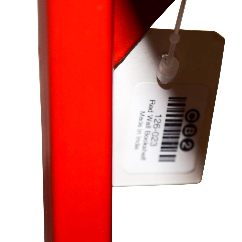 Outstanding 56 Off Cb2 Cb2 Red Metal Bookshelves Storage Interior Design Ideas Clesiryabchikinfo