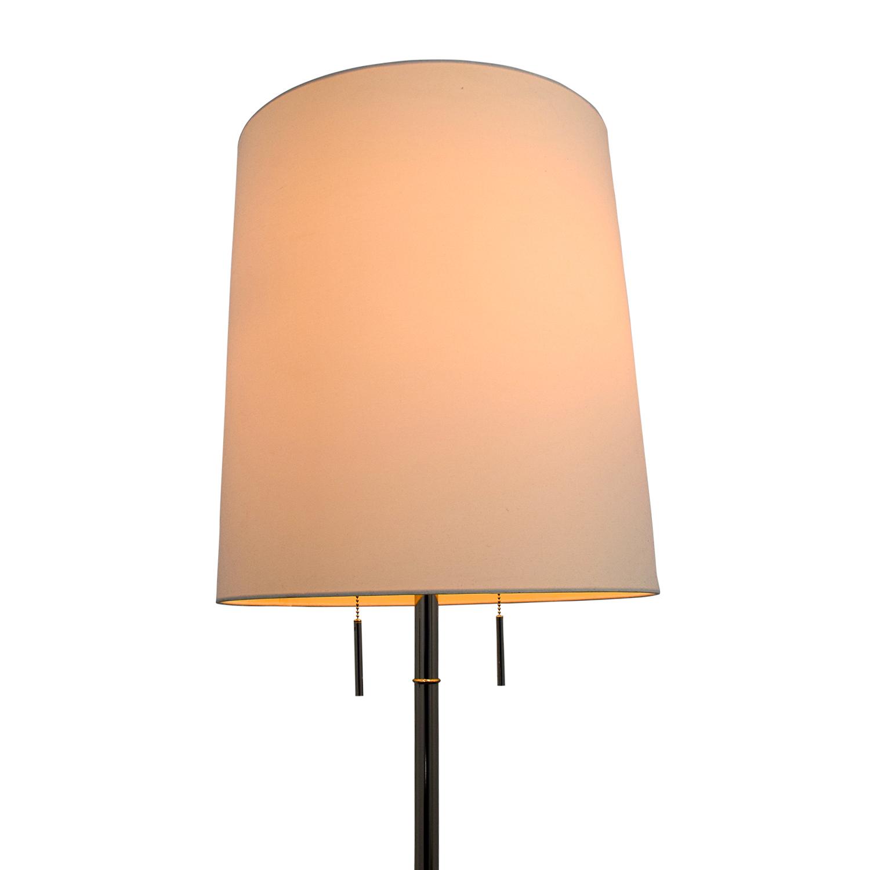 61 off west elm west elm tripod adjustable floor lamp. Black Bedroom Furniture Sets. Home Design Ideas