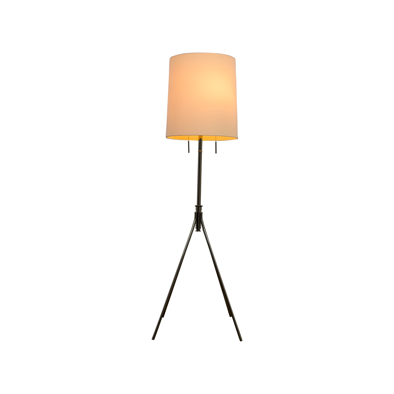 West Elm Tripod Adjustable Floor Lamp / Decor