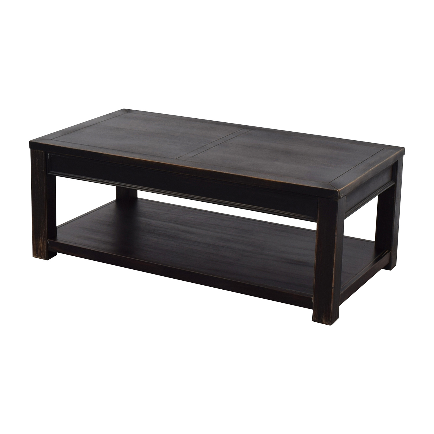 OFF Beachcrest Home Beachcrest Home Black Calvin Coffee Table - Calvin coffee table