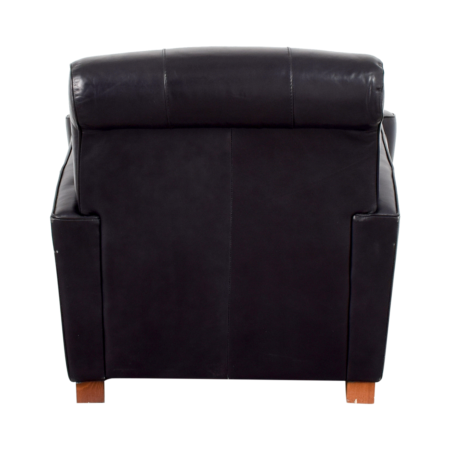 Leather Library Reading Chair on sale