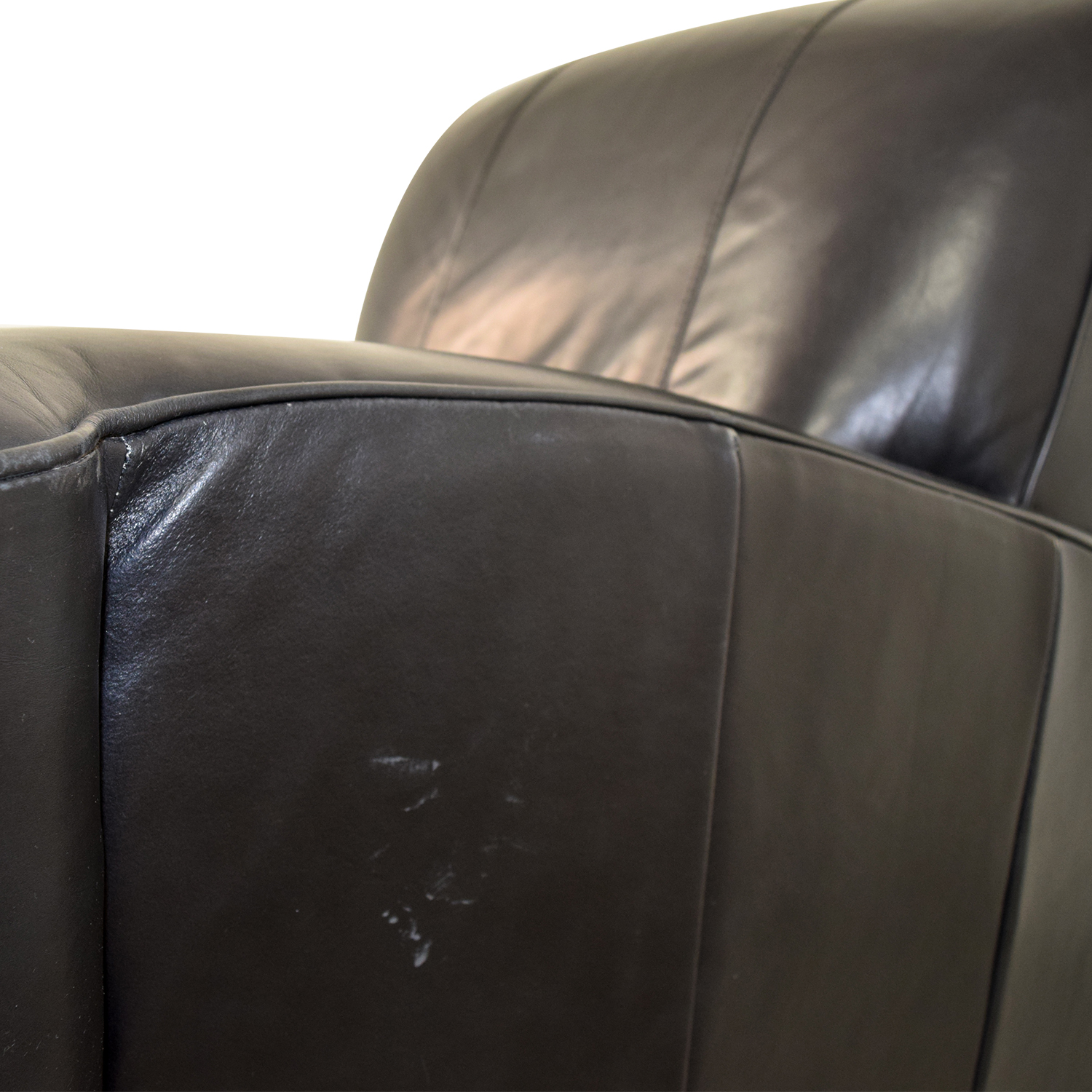 Leather Library Reading Chair dimensions