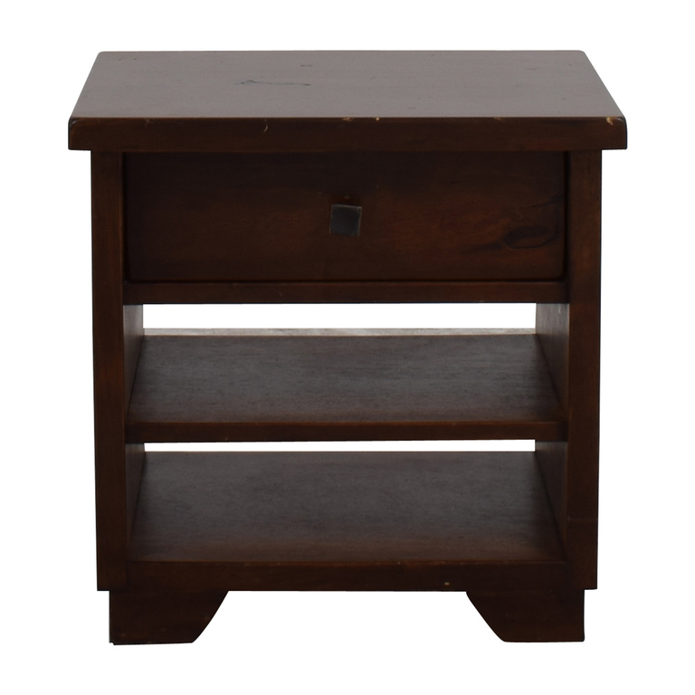 Pottery Barn Pottery Barn One-Drawer Bedside Table second hand