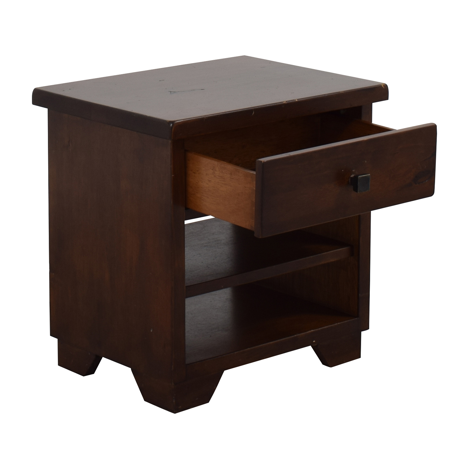 Superieur 90% OFF   Pottery Barn Pottery Barn One Drawer Bedside Table / Tables