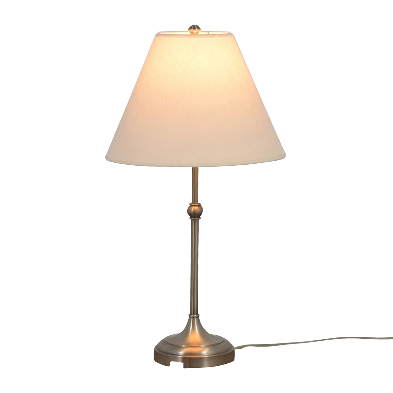 Pottery Barn Chrome Lamp / Lamps