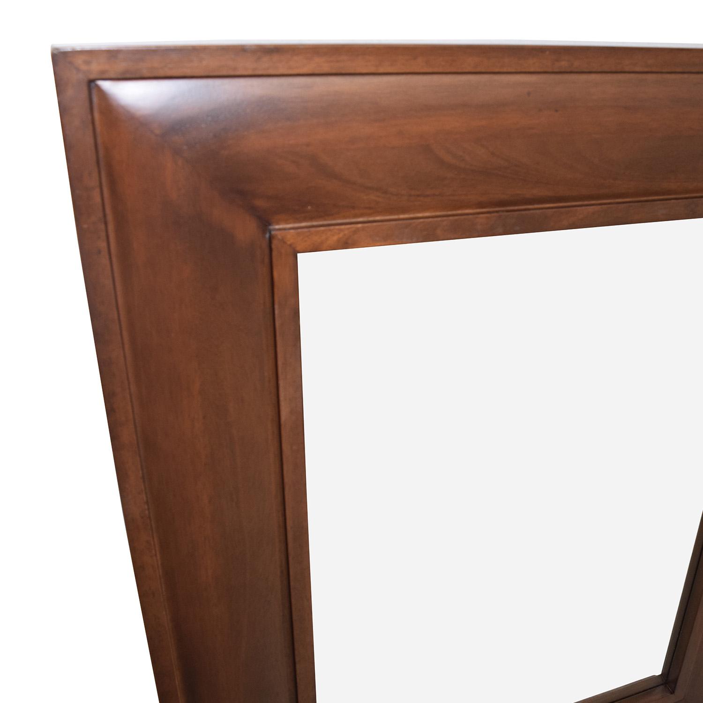 88 Off Pottery Barn Wood Framed Mirror Decor