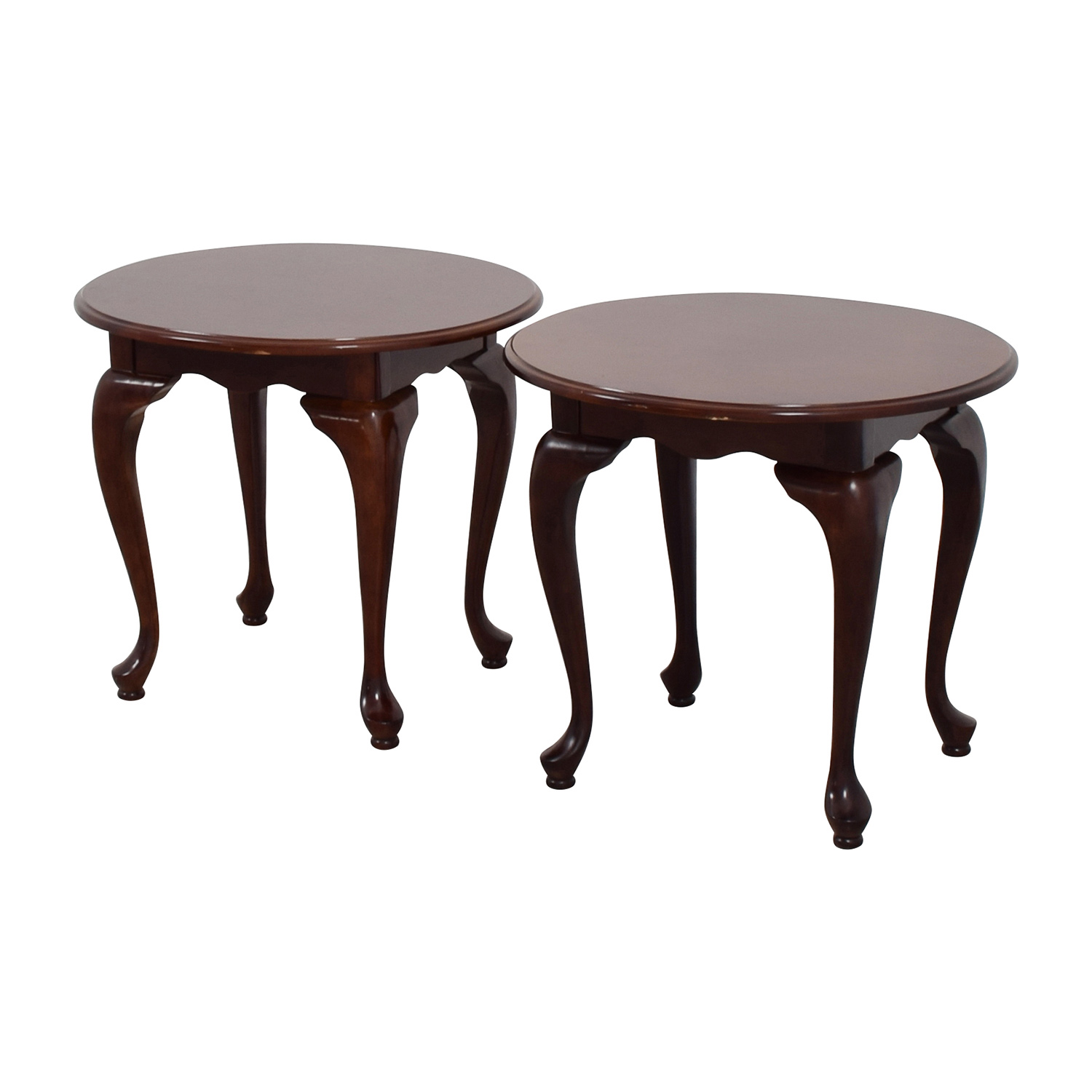 Used Ethan Allen Coffee Tables: Ethan Allen Ethan Allen Heirloom Round Lamp