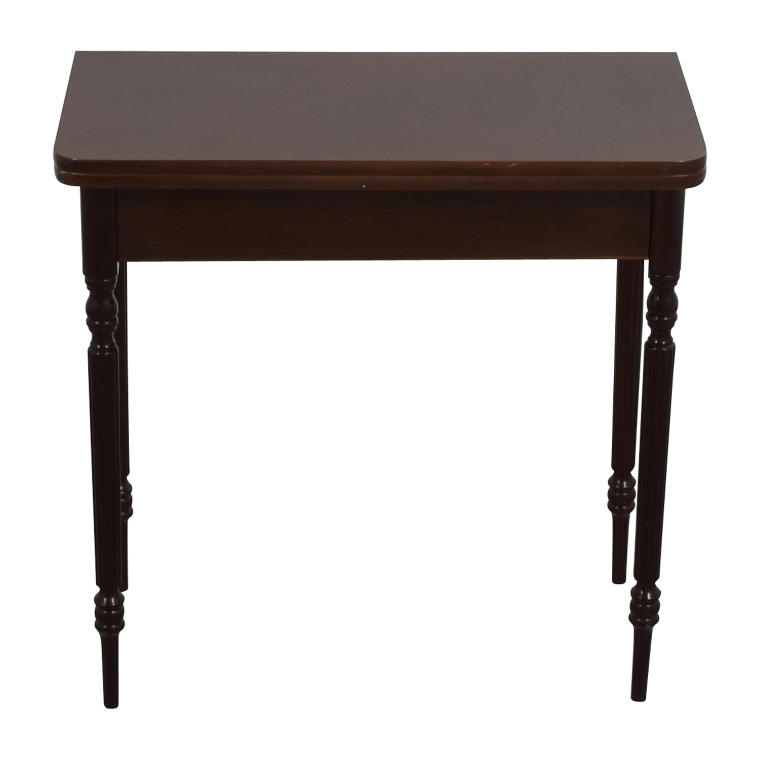 Small Wood Table for Entry Way Brown