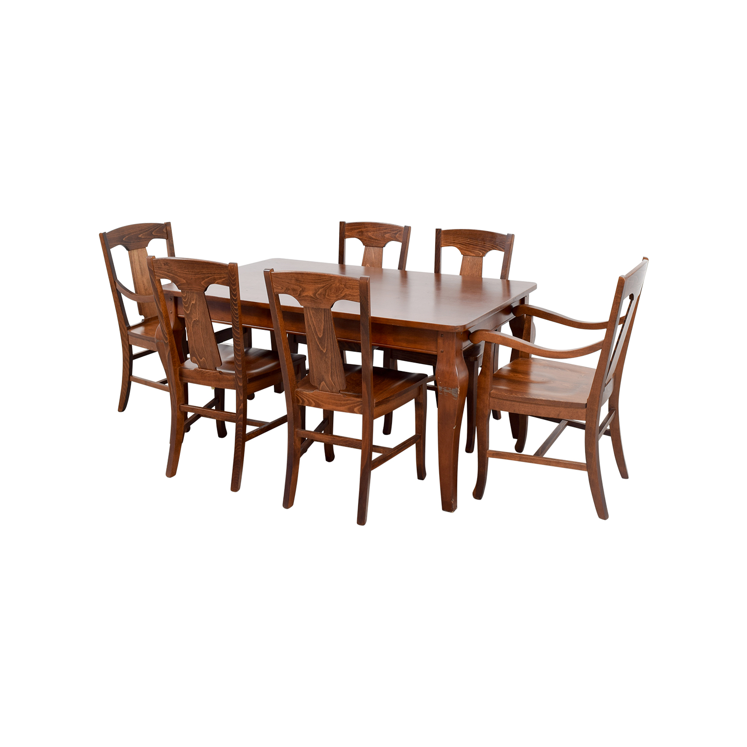 84% OFF - Pottery Barn Pottery Barn Dining Room Table / Tables