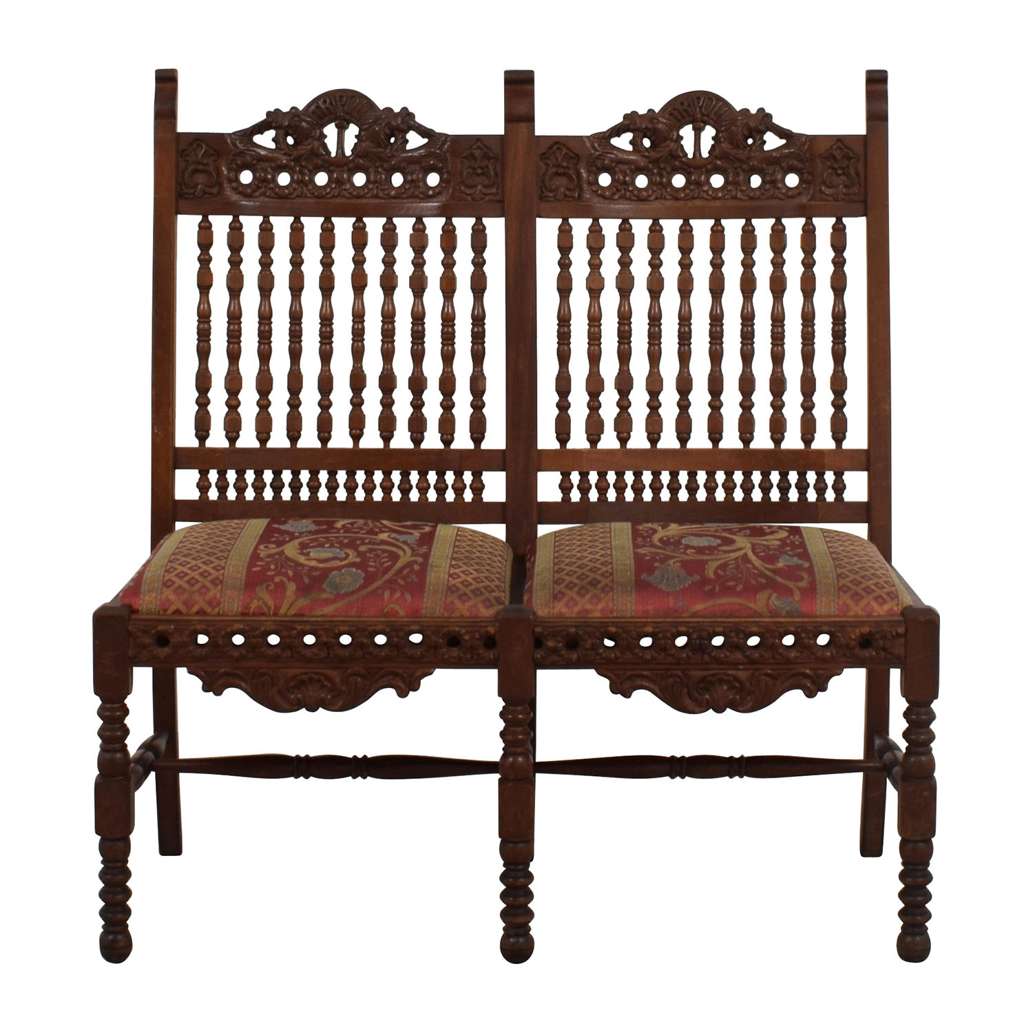 90 Off Hand Carved Antique Baroque Chair Chairs