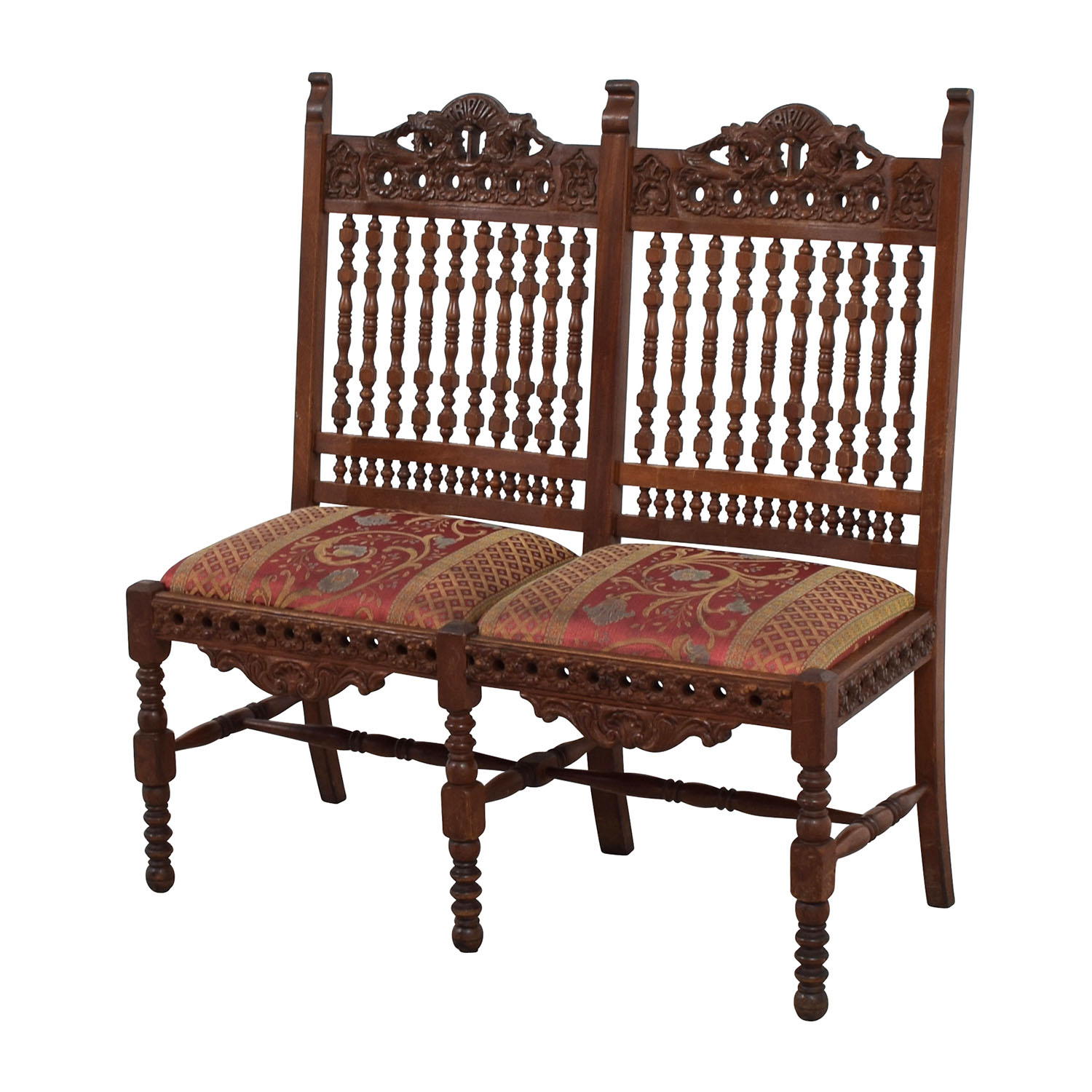 90 off hand carved antique baroque chair chairs for Antique baroque furniture