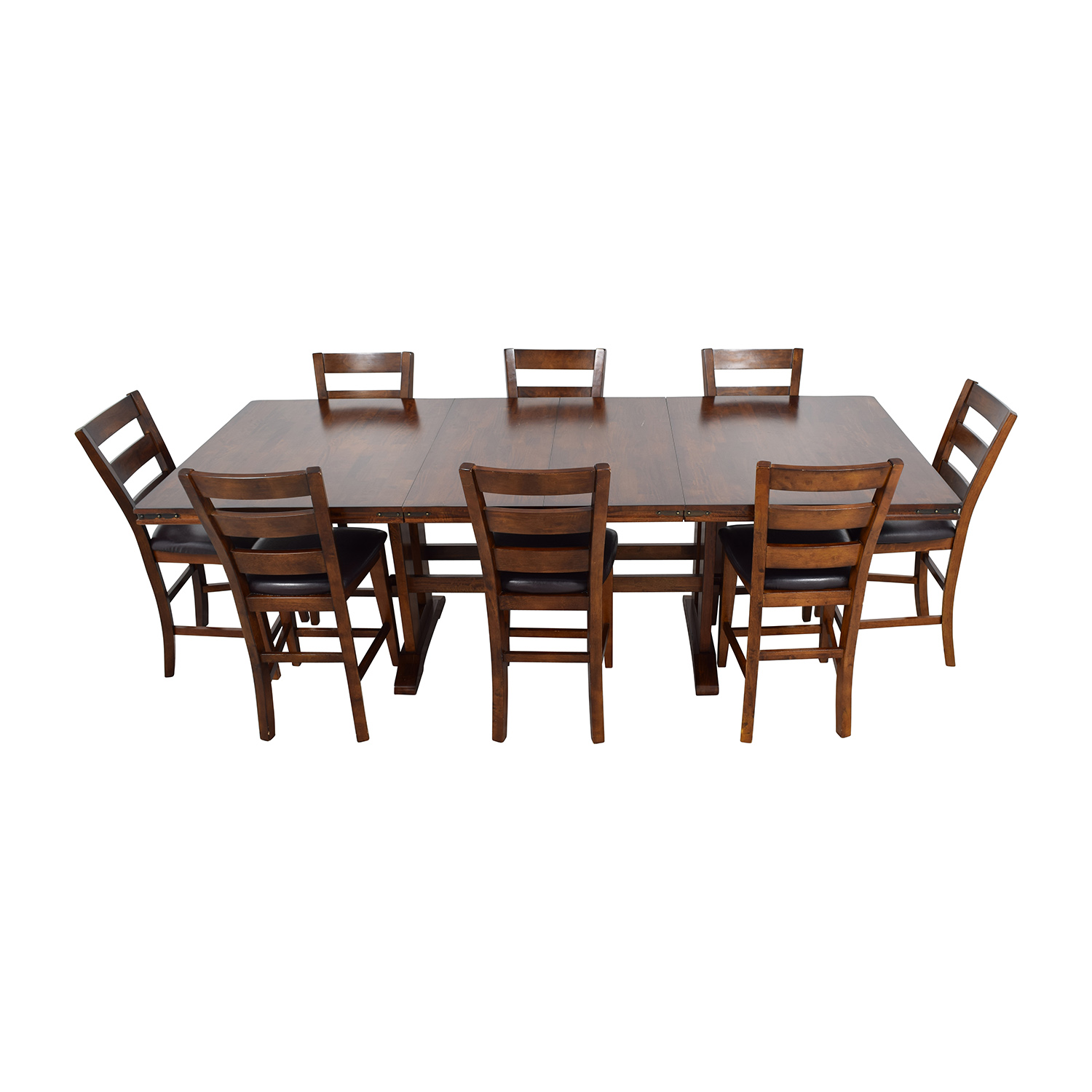 ... Bobs Furniture Enormous Counter Pub Table Set Sale ...