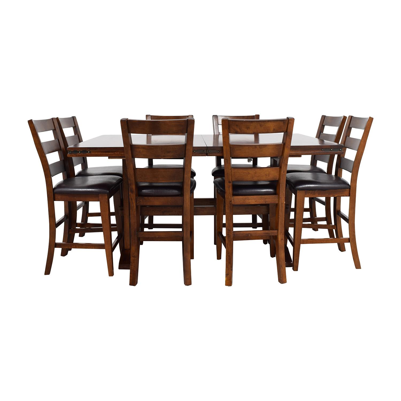 Beau 59% OFF   Bobu0027s Discount Furniture Bobu0027s Furniture Enormous Counter Pub  Table Set / Tables