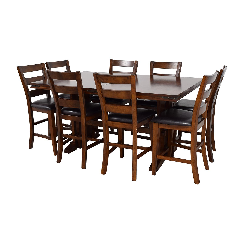 59% OFF - Bob\'s Discount Furniture Bob\'s Furniture Enormous Counter Pub  Table Set / Tables