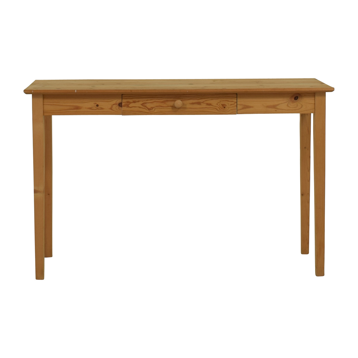 Vintage Wooden Console Table nyc