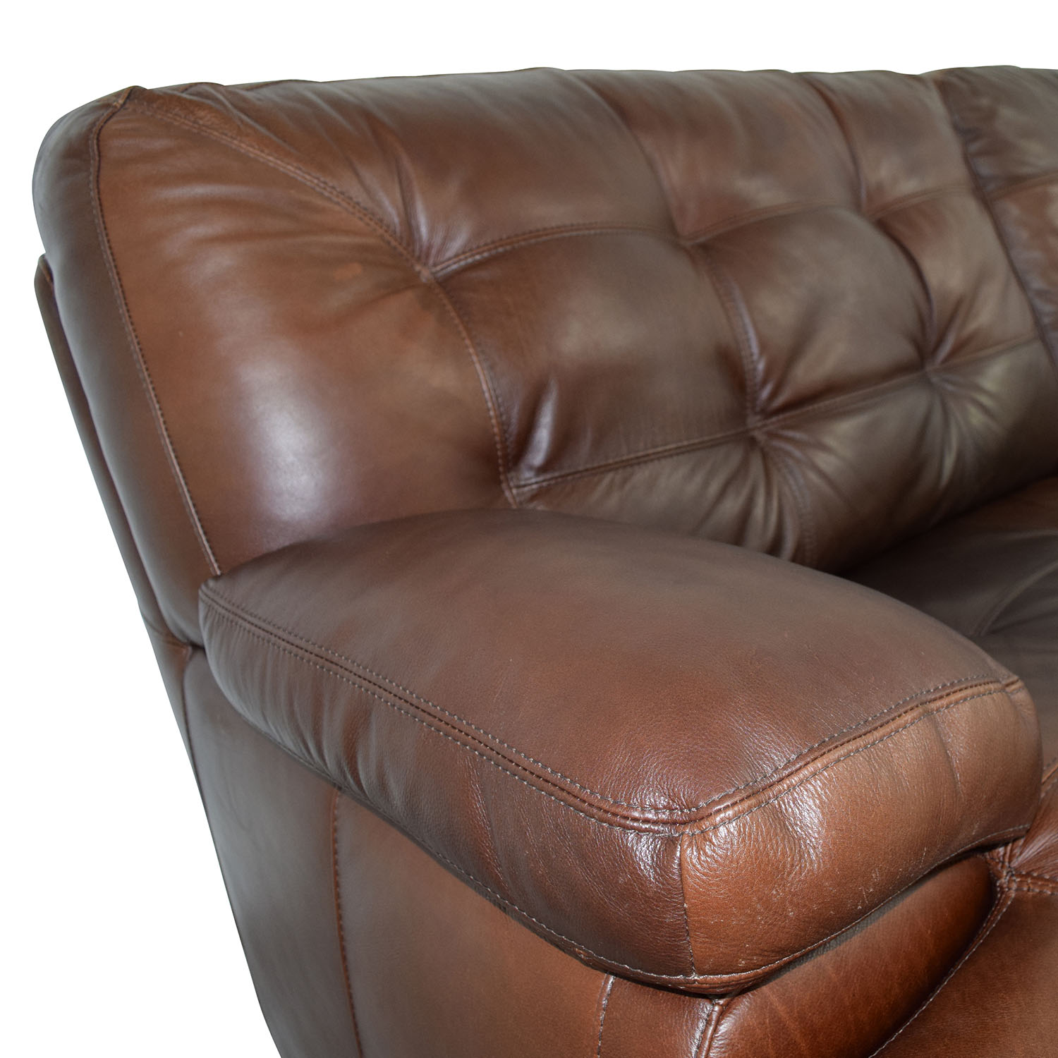 Simmon Li Simmon Li Monarch Dark Brown Sofa used