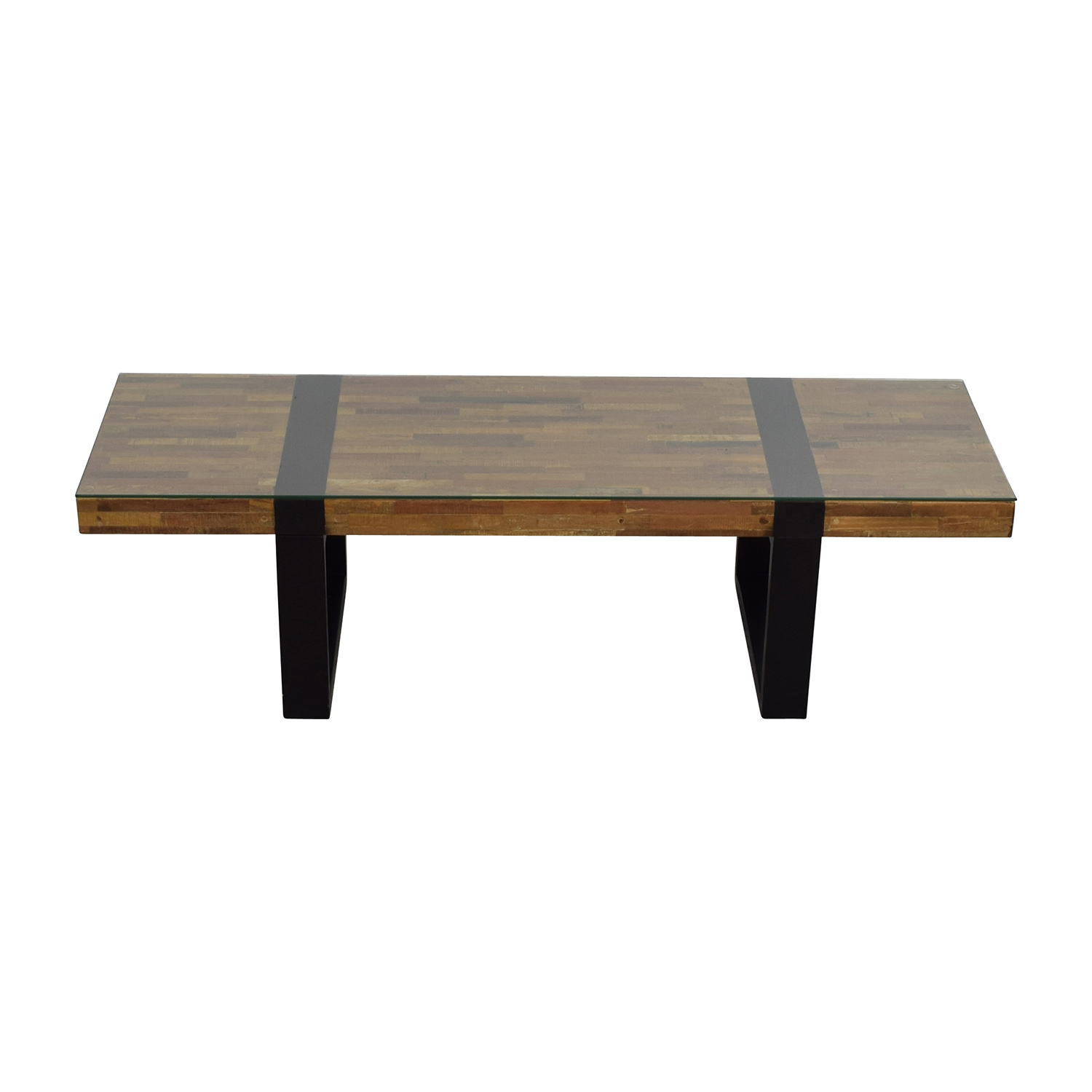 Crate barrel crate barrel seguro rectangular coffee table discount