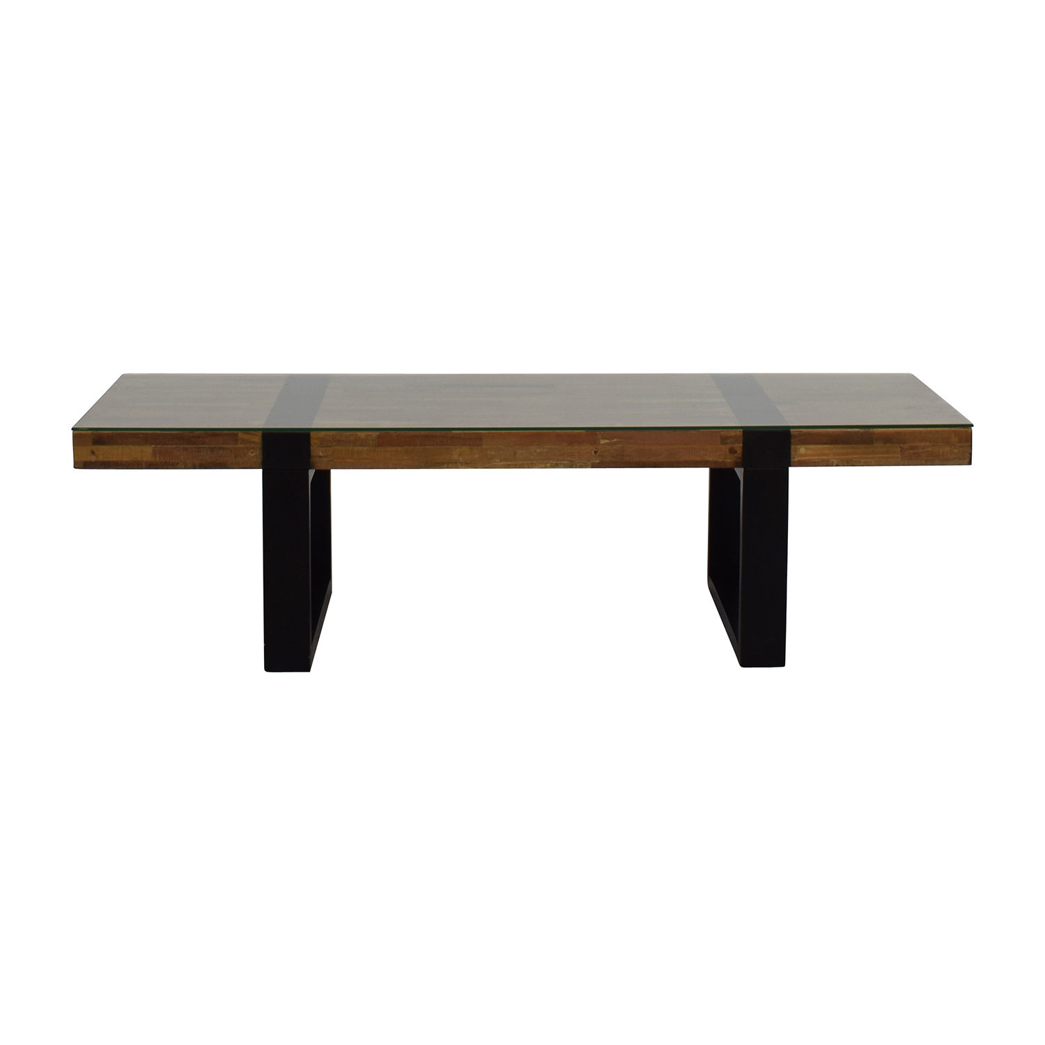 Crate barrel seguro rectangular coffee table coffee tables