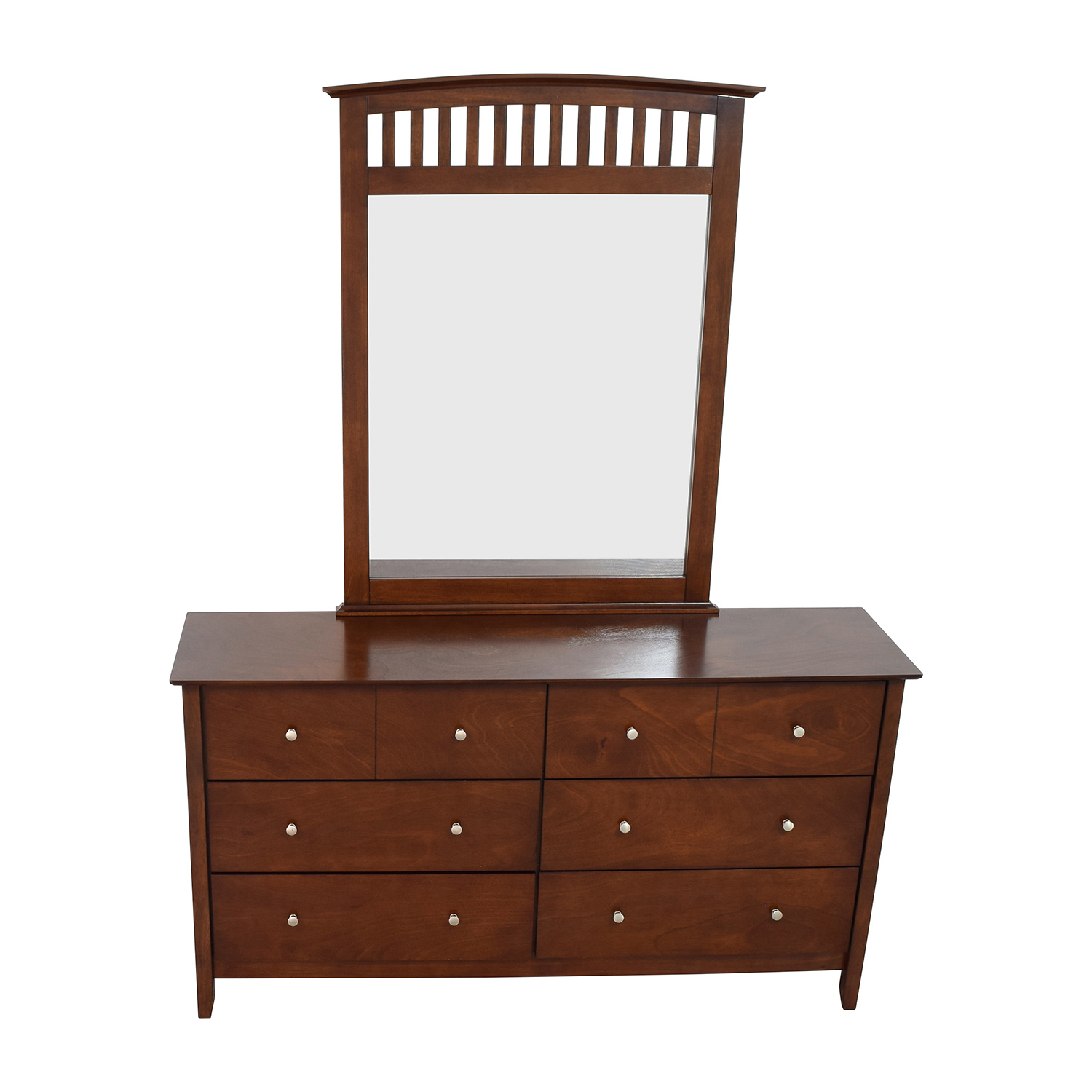 shop Bob's Furniture Bob's Furniture Eight-Drawer Dresser and Mirror online
