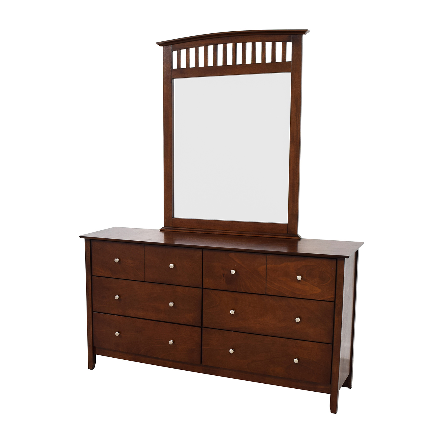 ... Bobs Furniture Bobs Furniture Eight Drawer Dresser And Mirror Nj ...