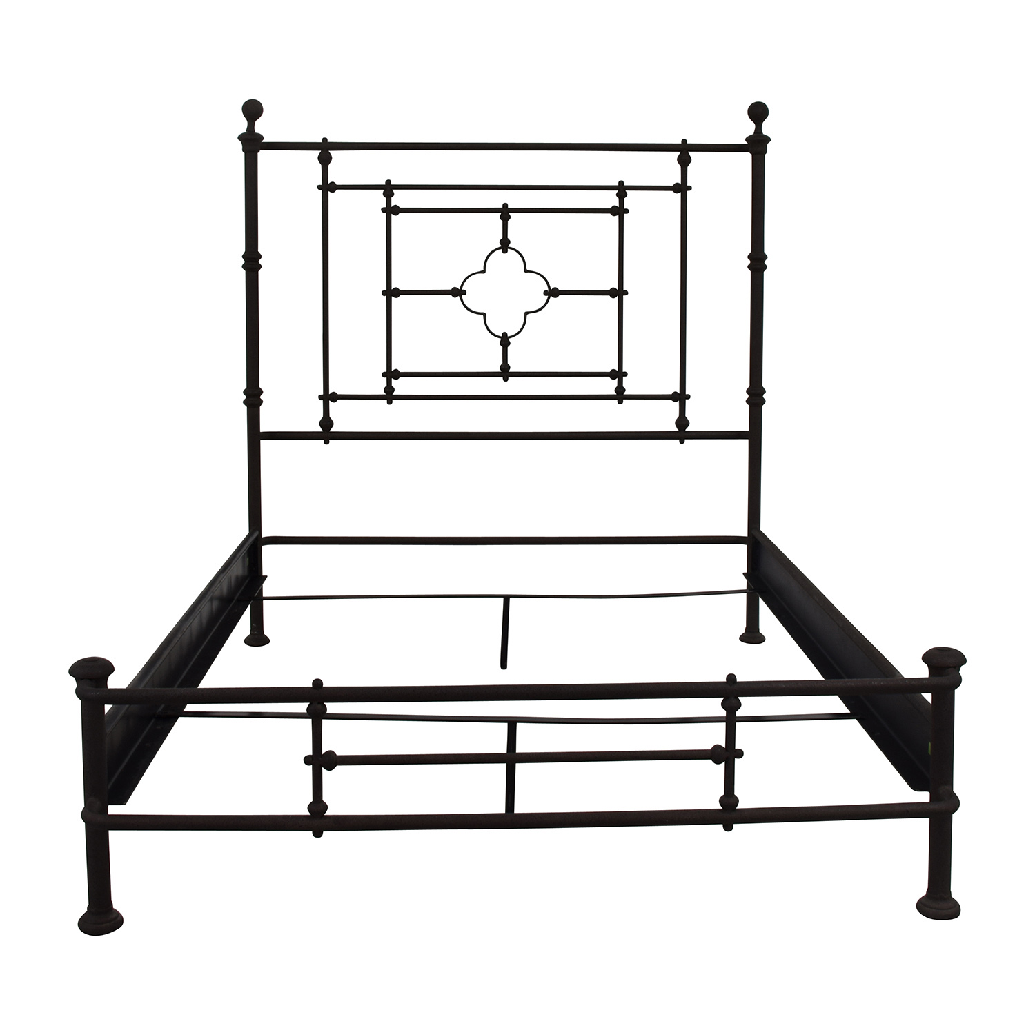 shop Restoration Hardware 19th Century Quatrefoil Full Bed Restoration Hardware Bed Frames