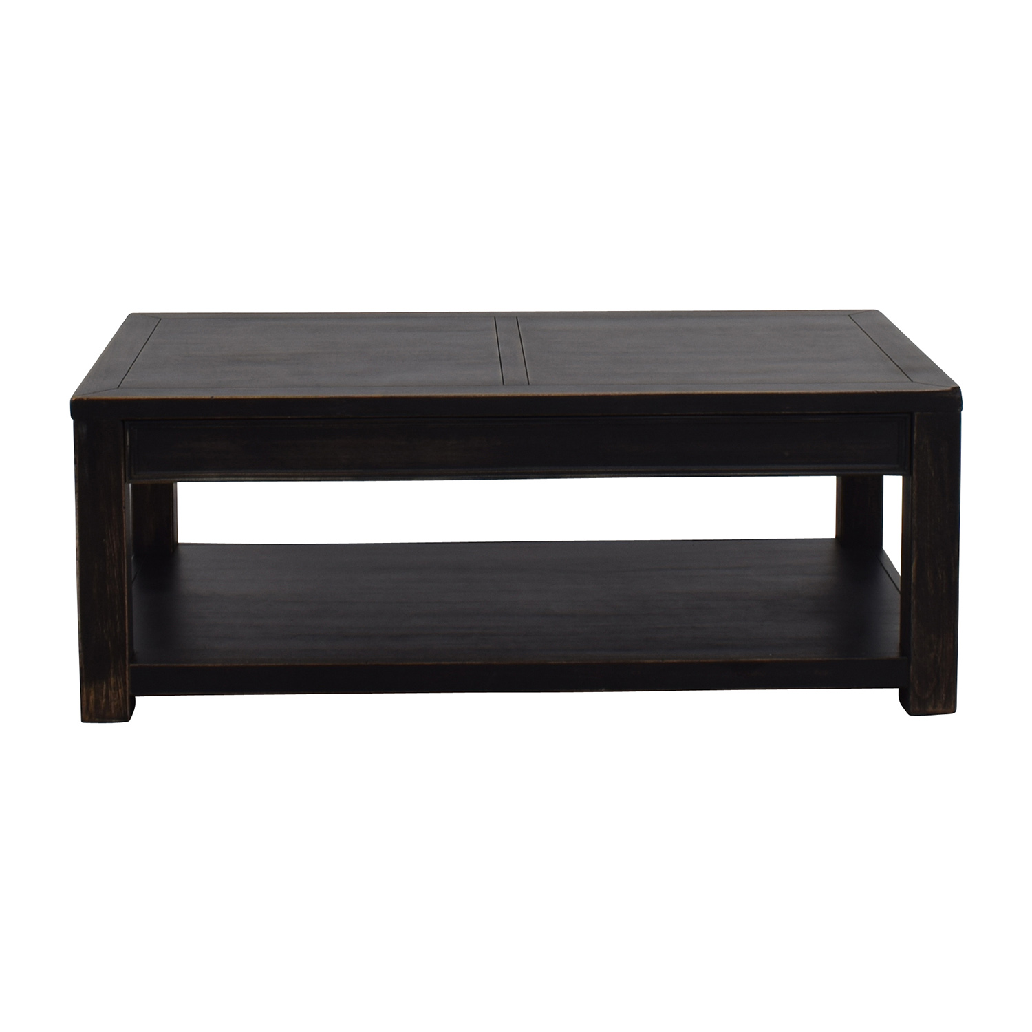 Groovy 77 Off Beachcrest Home Calvin By Beachcrest Home Black Coffee Table Tables Theyellowbook Wood Chair Design Ideas Theyellowbookinfo