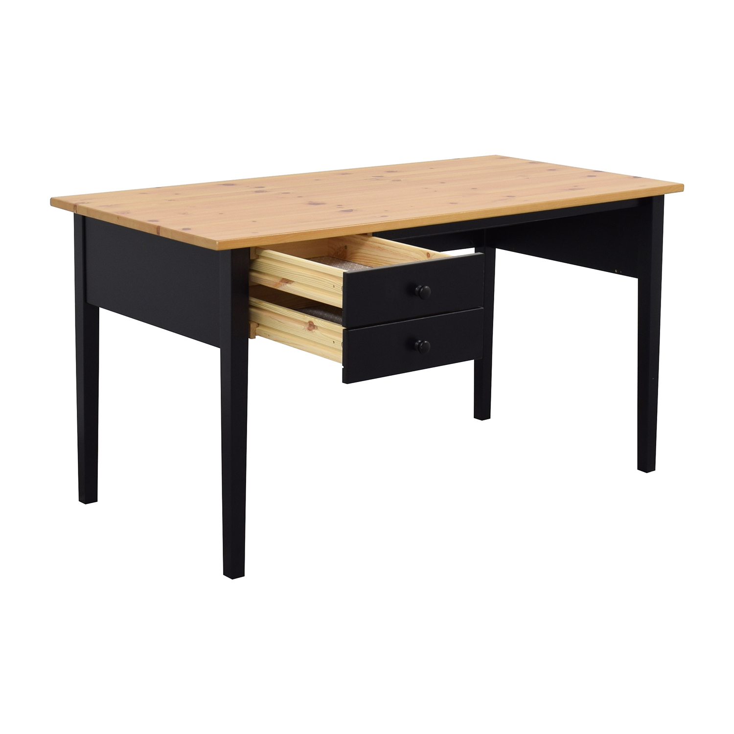 Ikea table bureau micke desk black brown ikea small for Table bureau