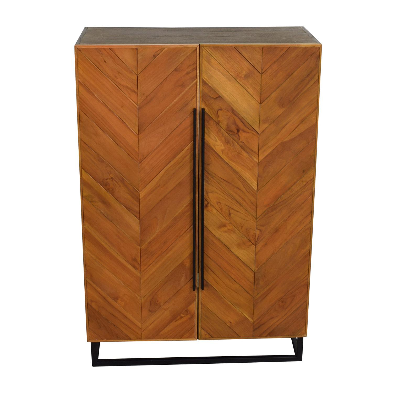 Crate & Barrel Estilo Cabinet / Sofas