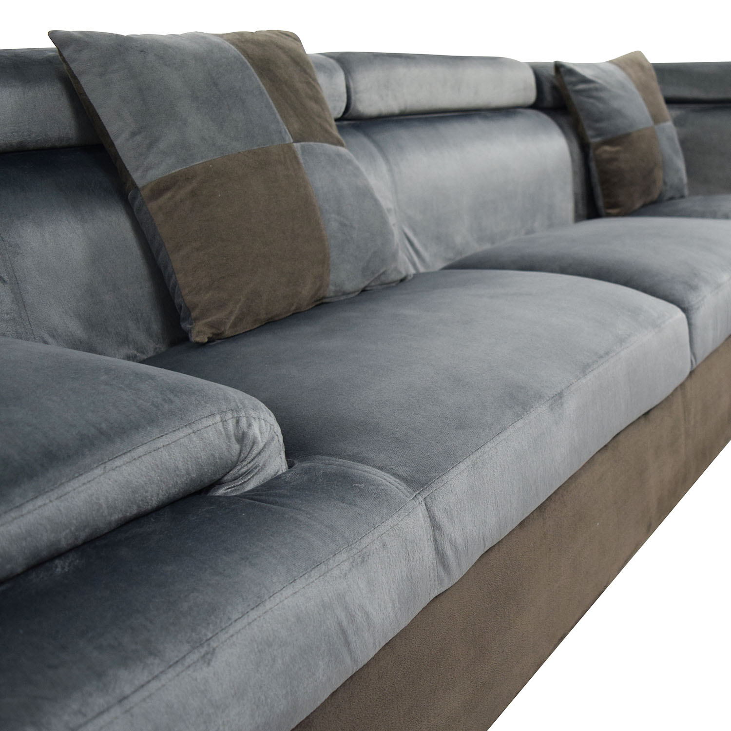 Sectional Sofas With Two Recliners: Beverly Furniture Beverly Furniture Two Piece