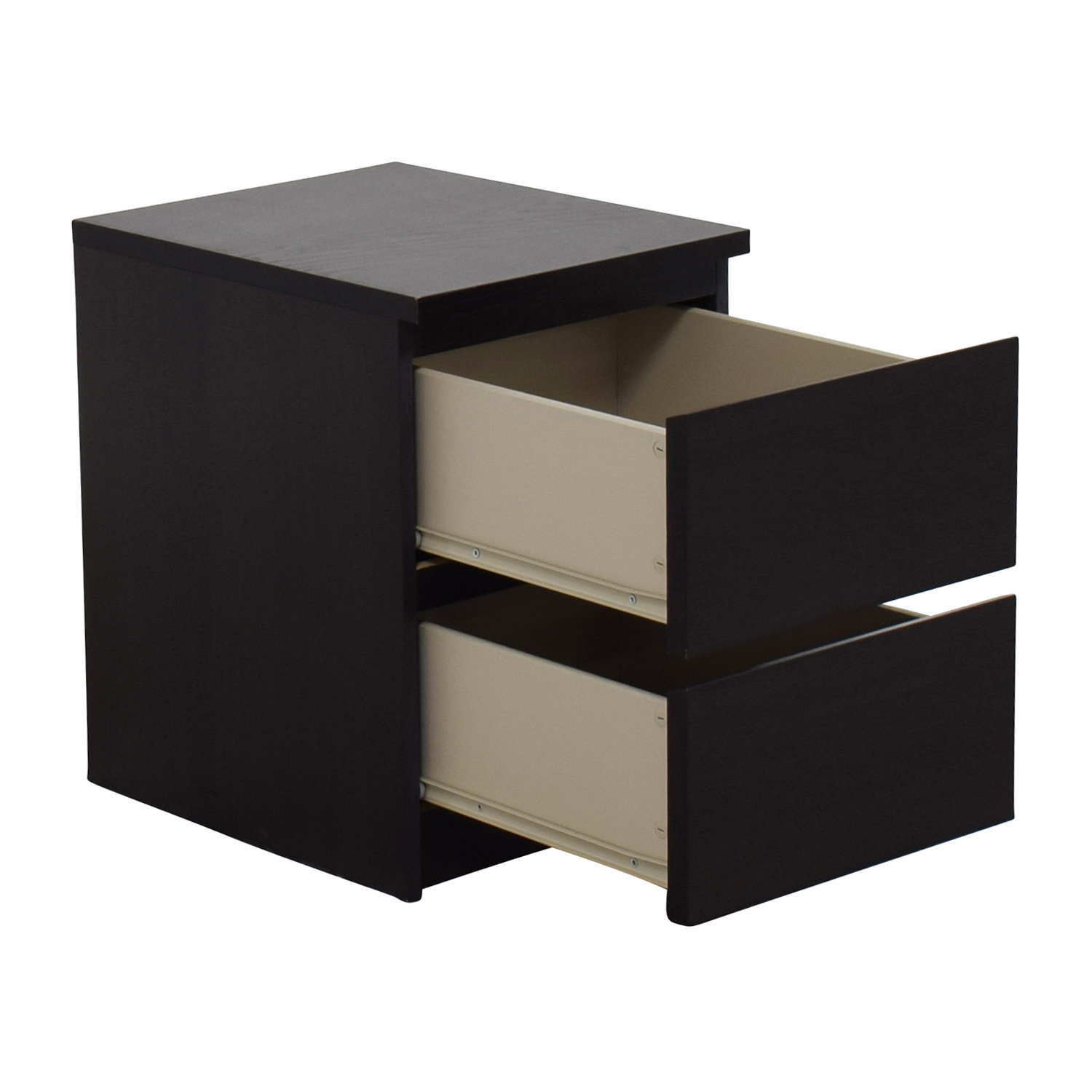 Ikea Brown Two Drawer Night Stand Dimensions