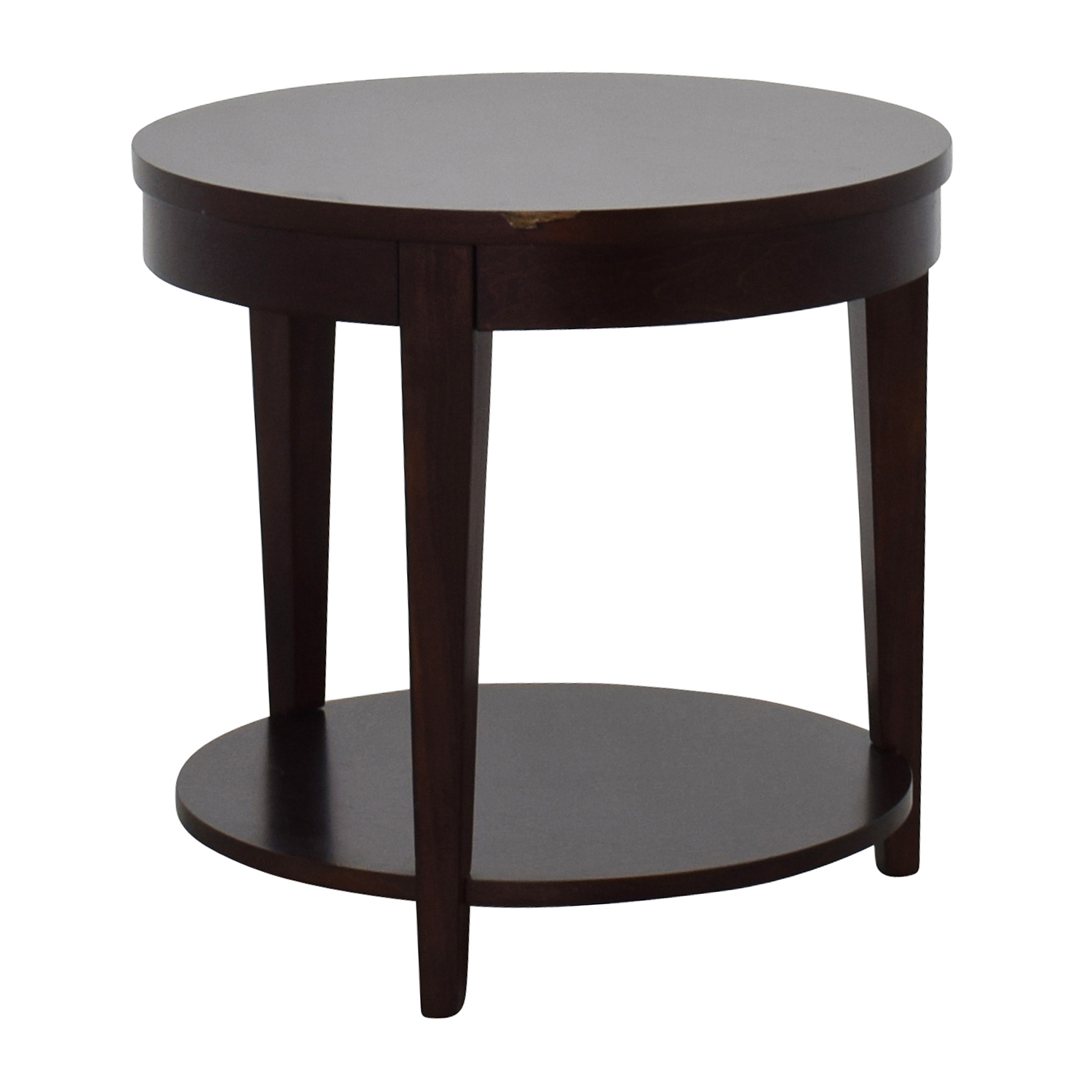 cheaper e7744 7c3bd 71% OFF - Macy's Macy's Round Night Stand / Tables