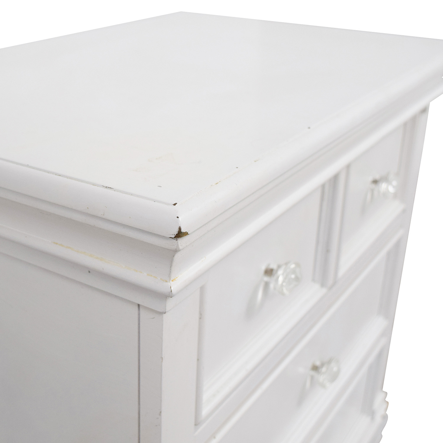 Coaster Coaster White Nightstand used