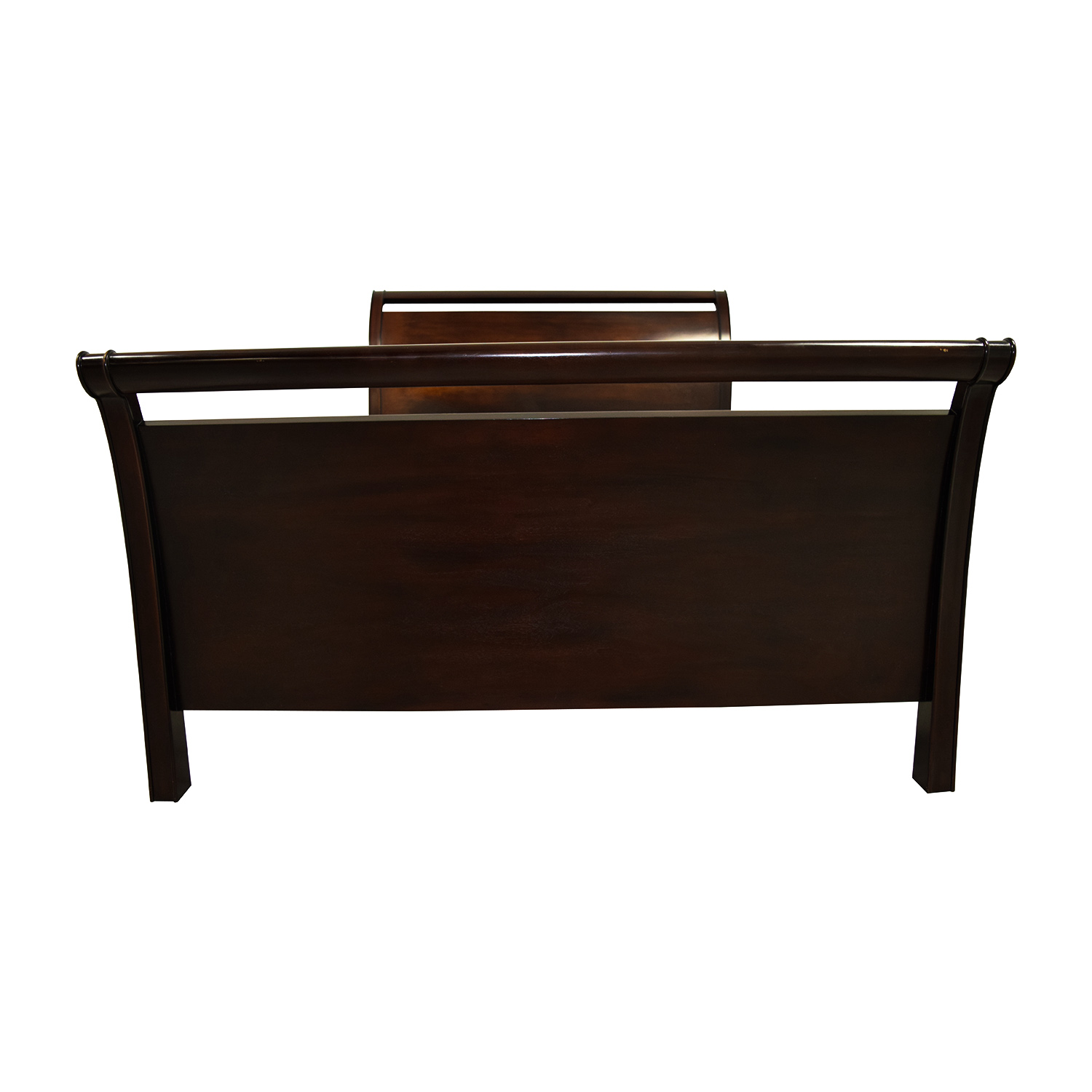 buy Crate and Barrel Crate and Barrel Wood Queen Sleigh Bed online