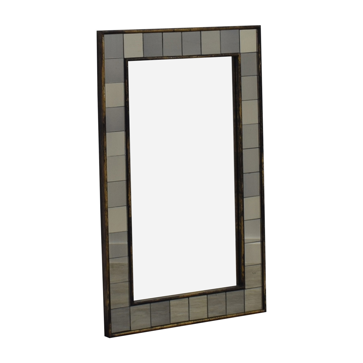 West Elm West Elm Antique Tiled Mirror discount