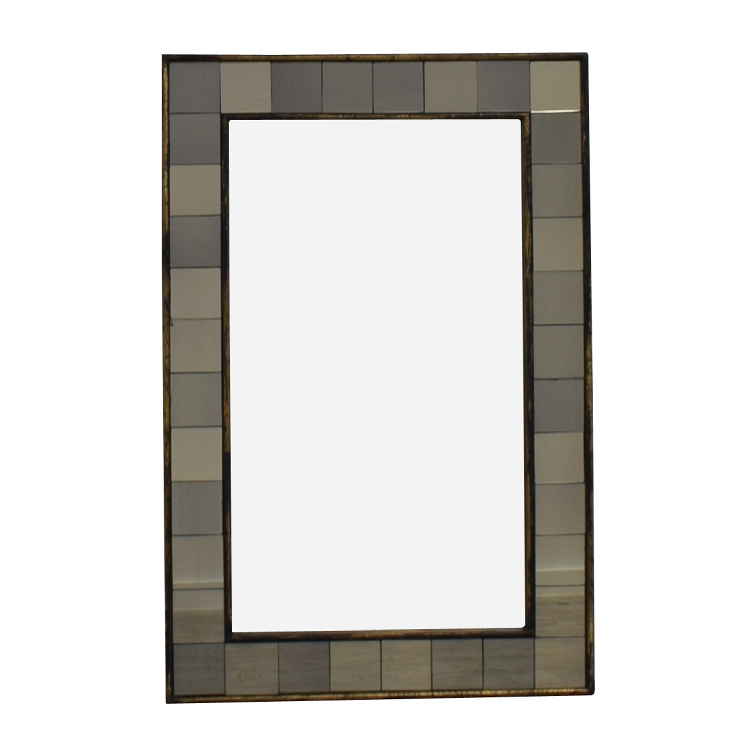 West Elm Antique Tiled Mirror / Mirrors
