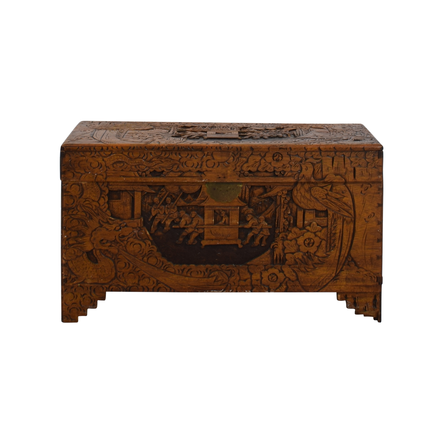 shop Chinese Wood Camphor Trunk Trunks