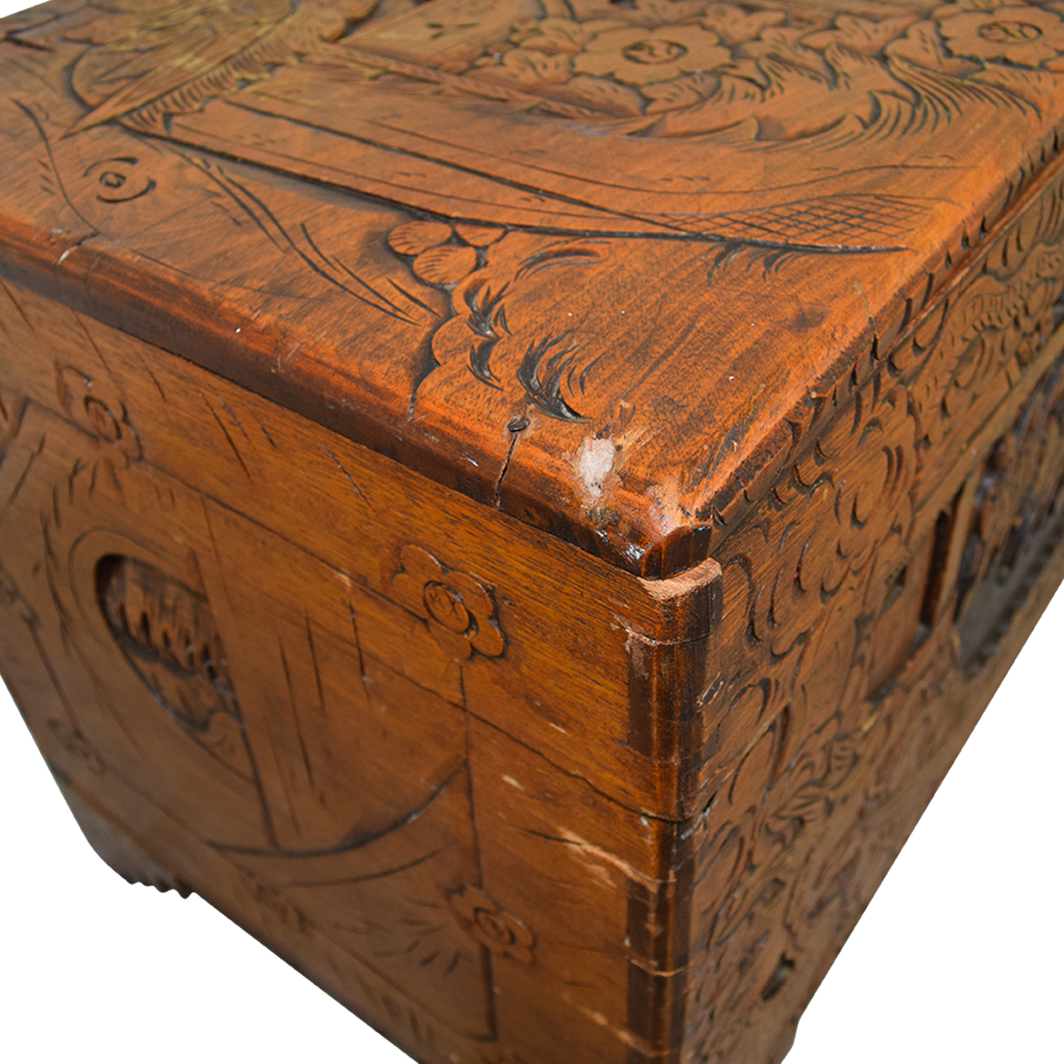 Charmant ... Shop Chinese Wood Camphor Trunk ...