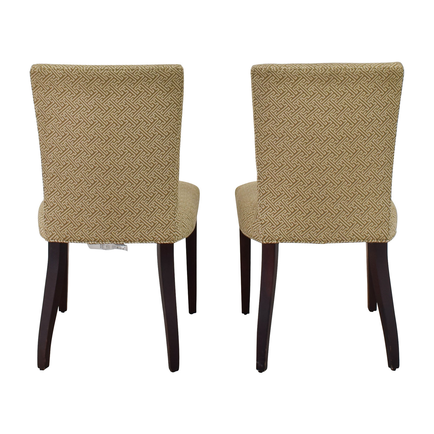 Room & Board Room & Board Ansel Beige Dining Chairs dimensions