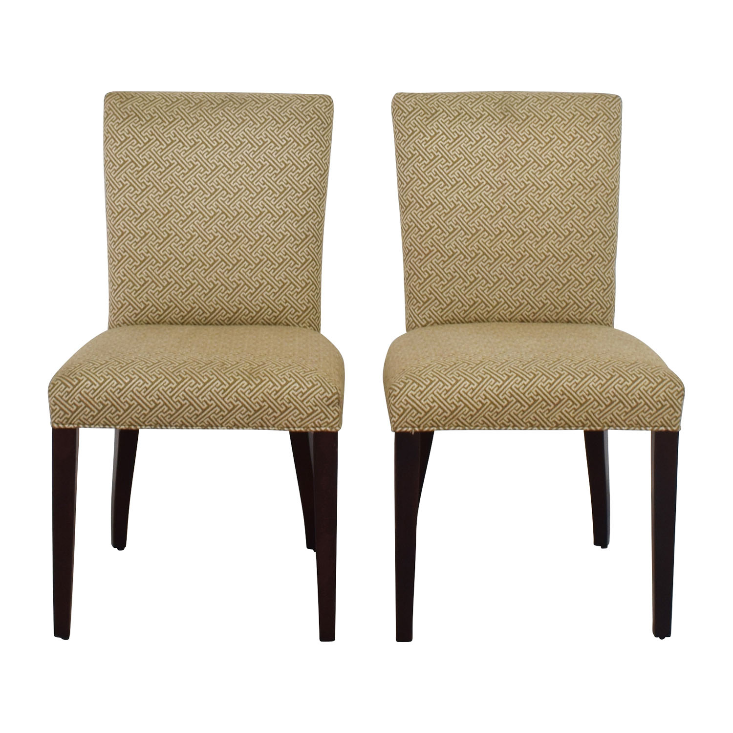 Room & Board Room & Board Ansel Beige Dining Chairs nj