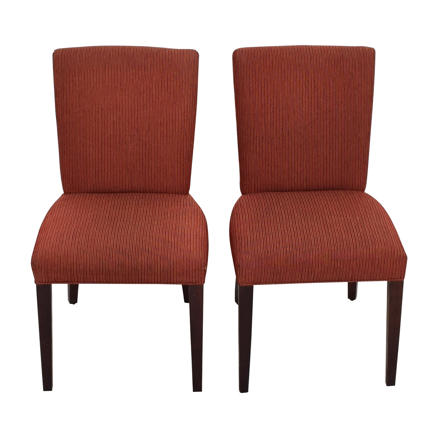 Room Board Anssel Rust Dining Chairs Second Hand