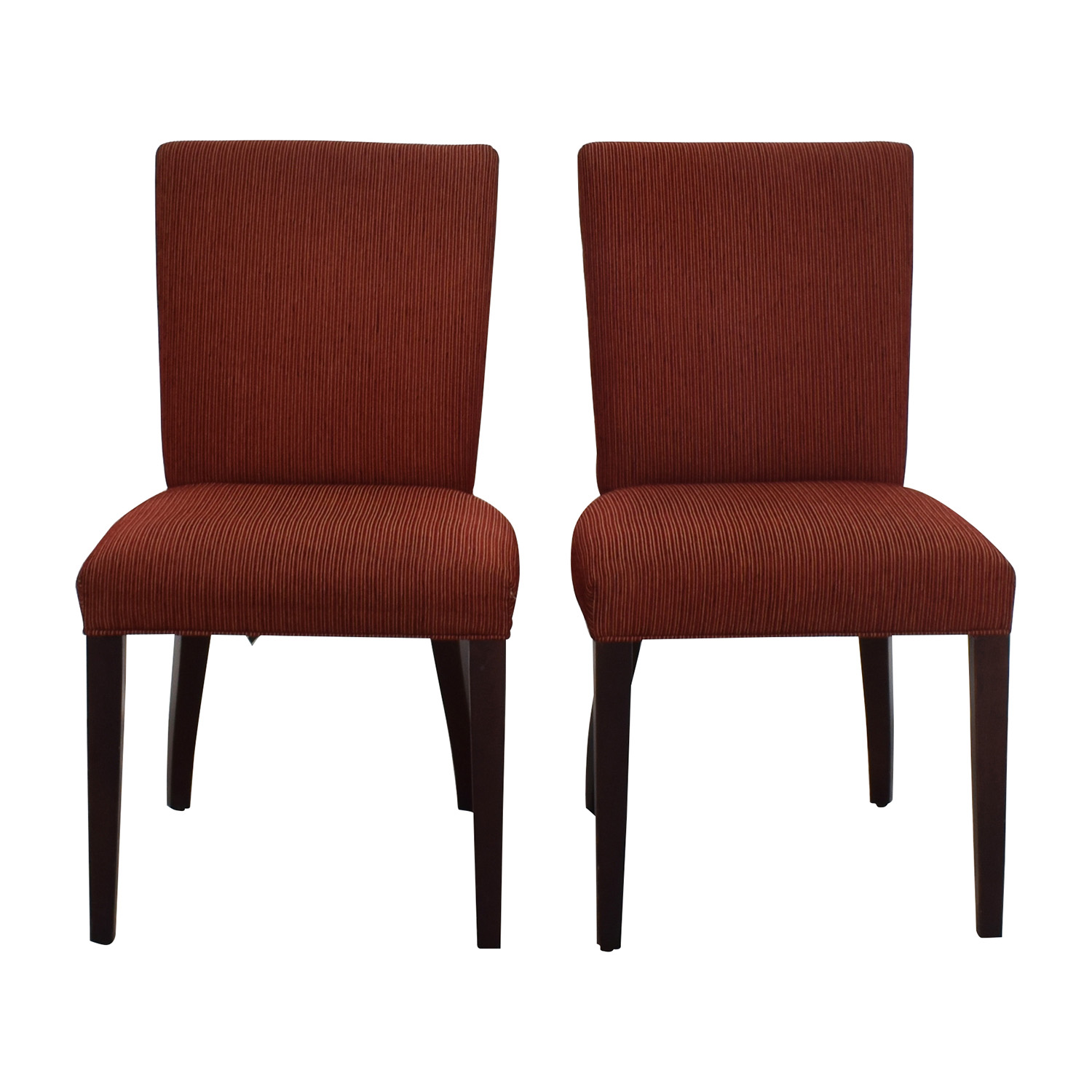 Room & Board Room & Board Anssel Rust Dining Room Chairs nyc