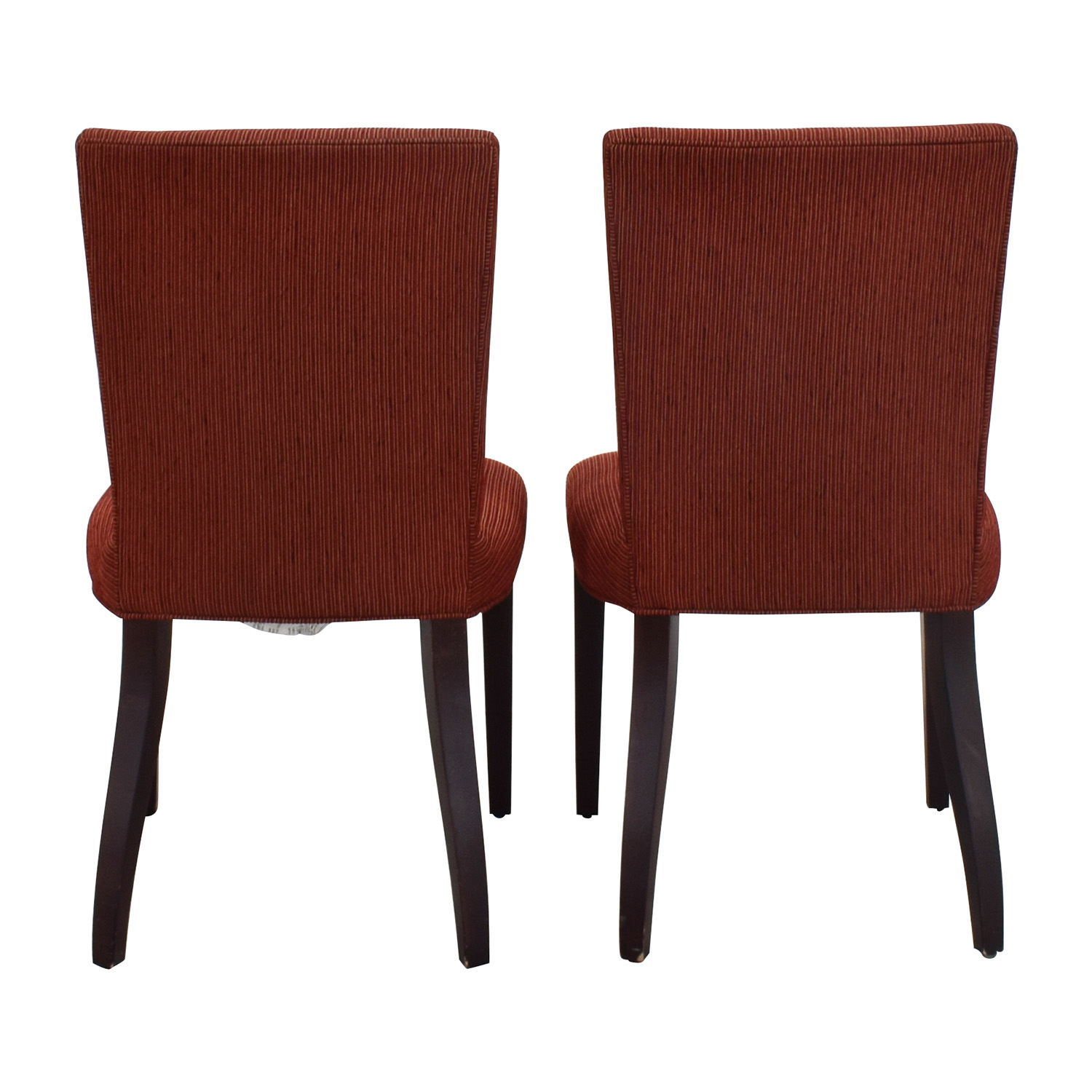 shop Room & Board Anssel Rust Dining Room Chairs Room & Board