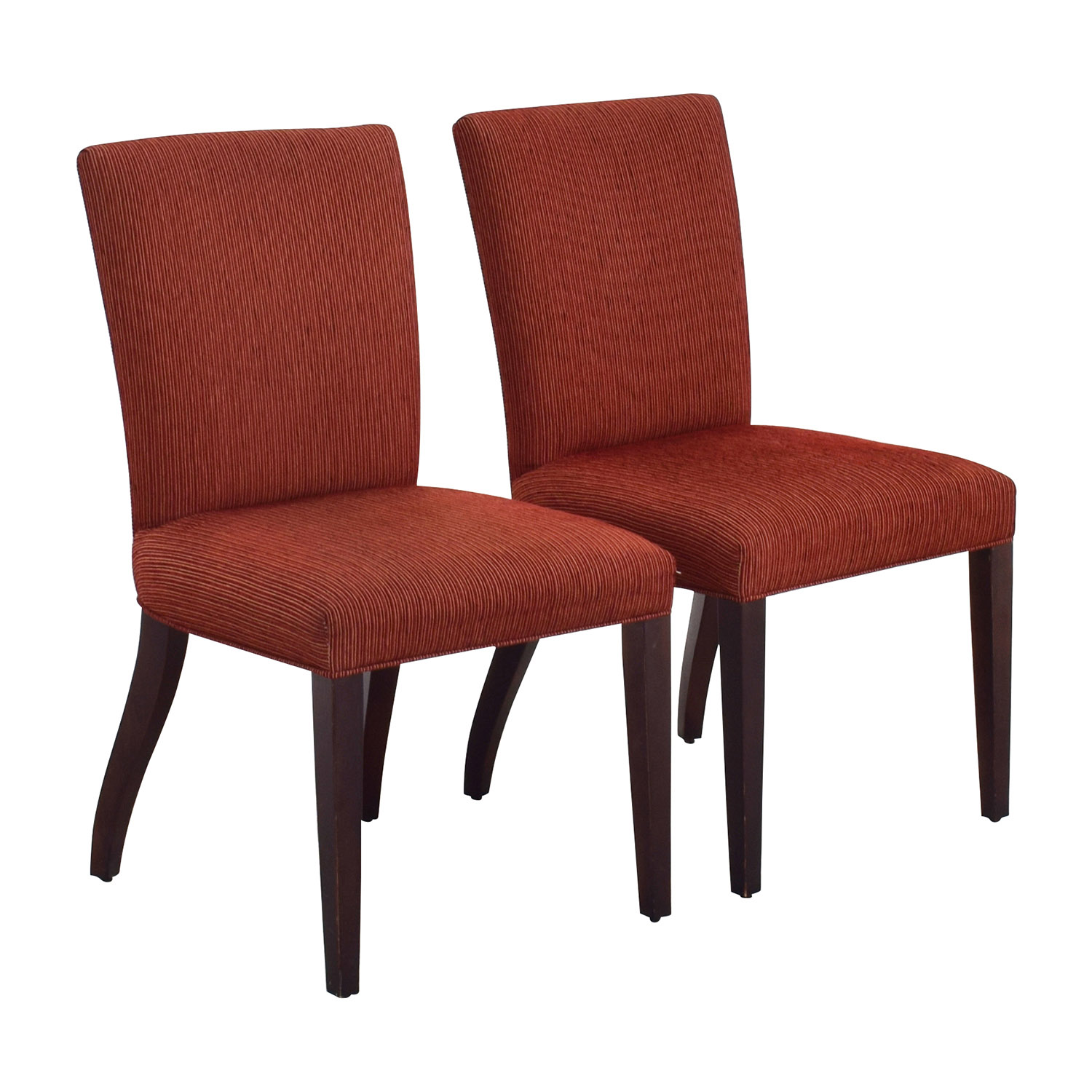 Room Board Anssel Rust Dining Chairs