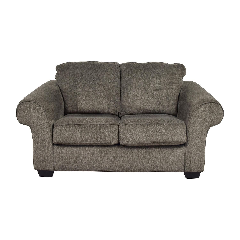 Ashley Furniture Ashley Furniture Makonnen Grey Loveseat price