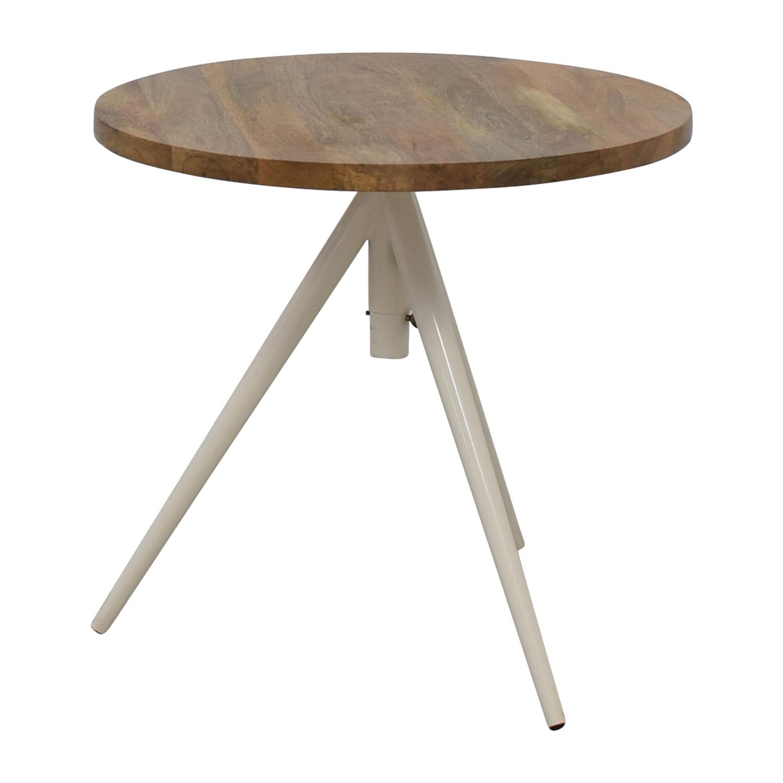 Superbe ... Shop West Elm Round Adjustable Bistro Table West Elm Tables ...