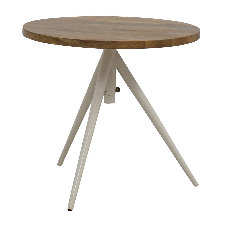39% OFF West Elm West Elm Round Adjustable Bistro Table Tables