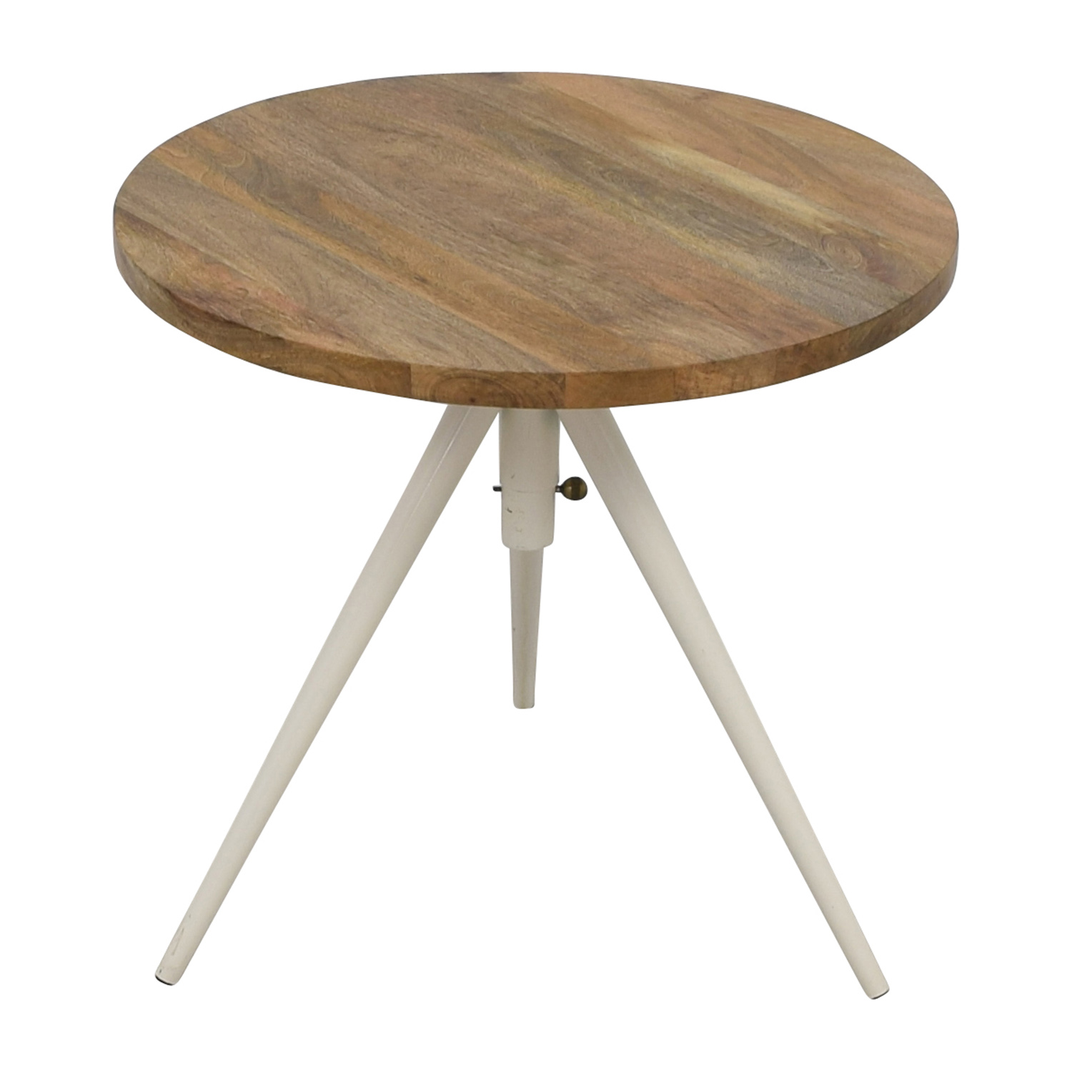 West Elm Round Adjustable Bistro Table / Accent Tables