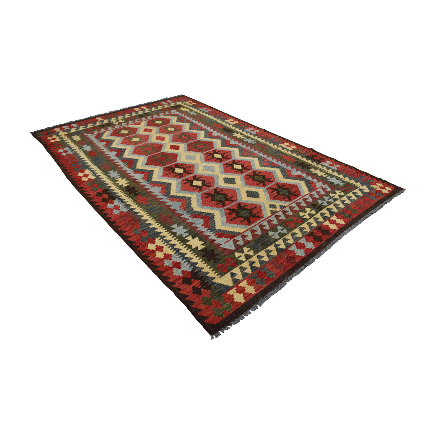 buy Rugs USA Kilim Multi-Colored Rug Rugs USA