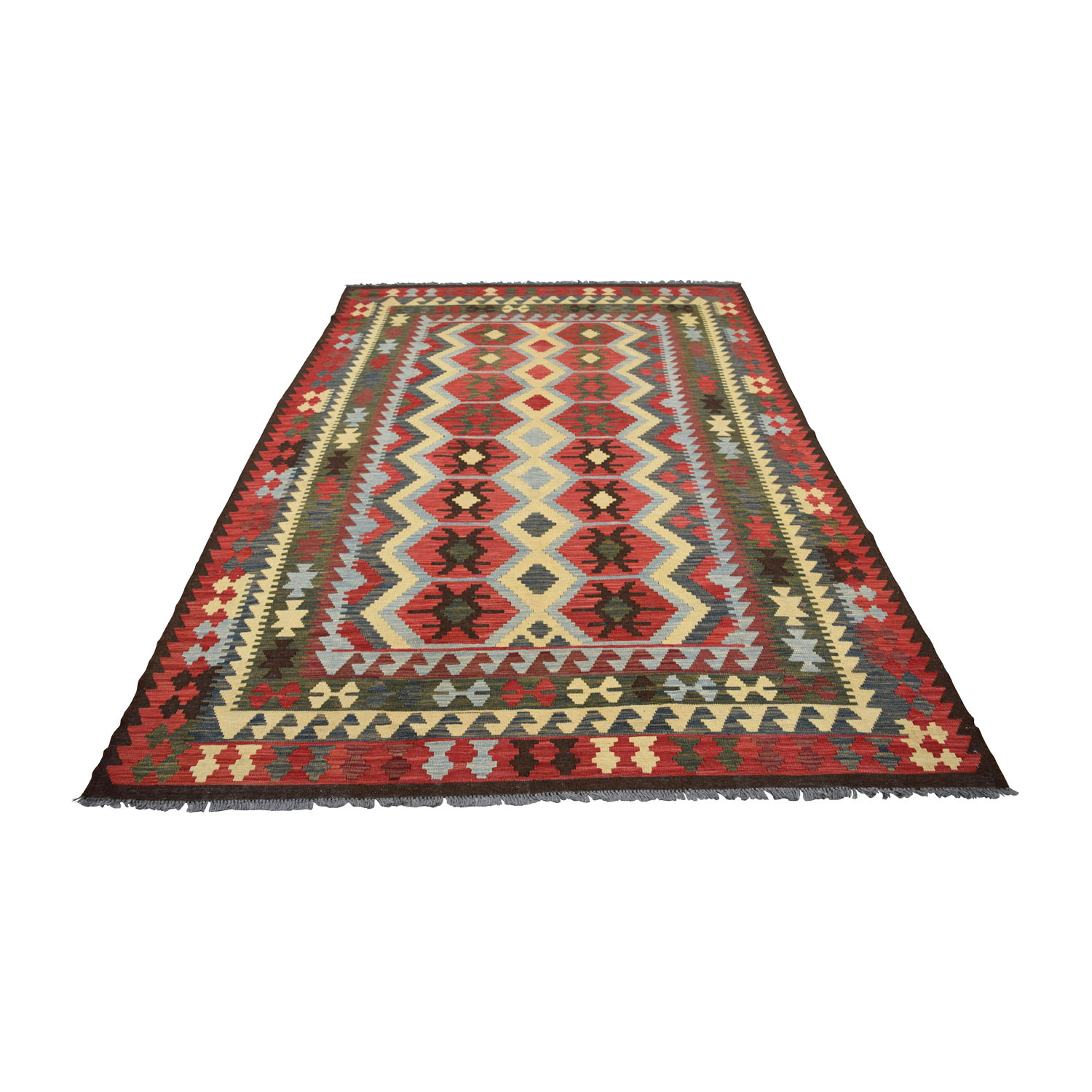47% off - anthropologie anthropologie hand knotted arasta rug / decor