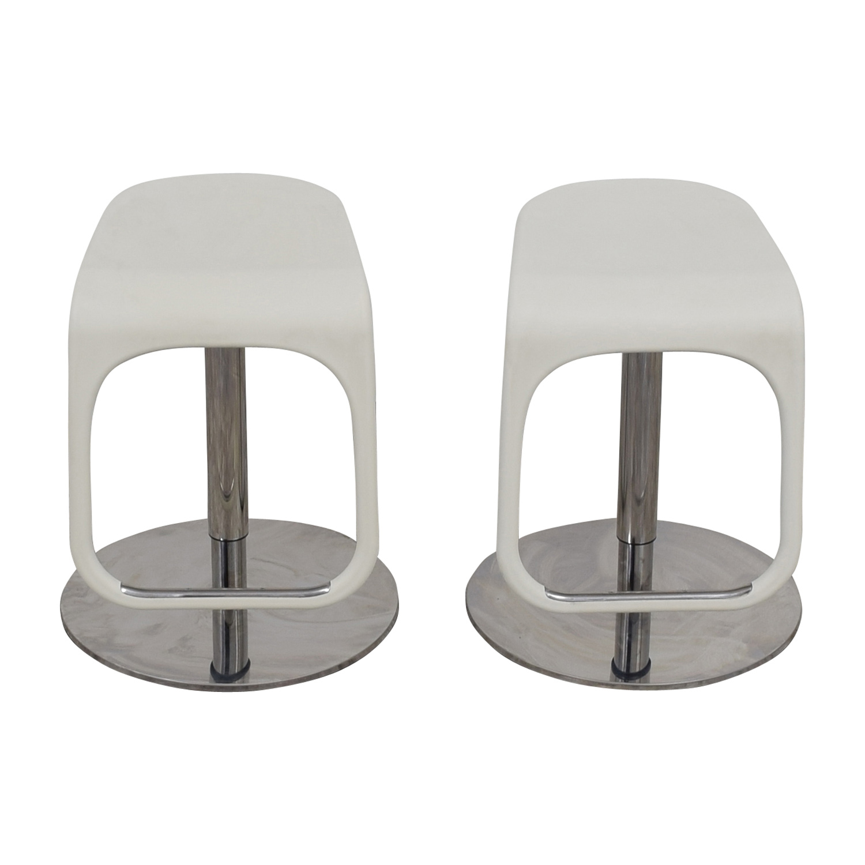 IKEA IKEA White Modern Bar Stools coupon